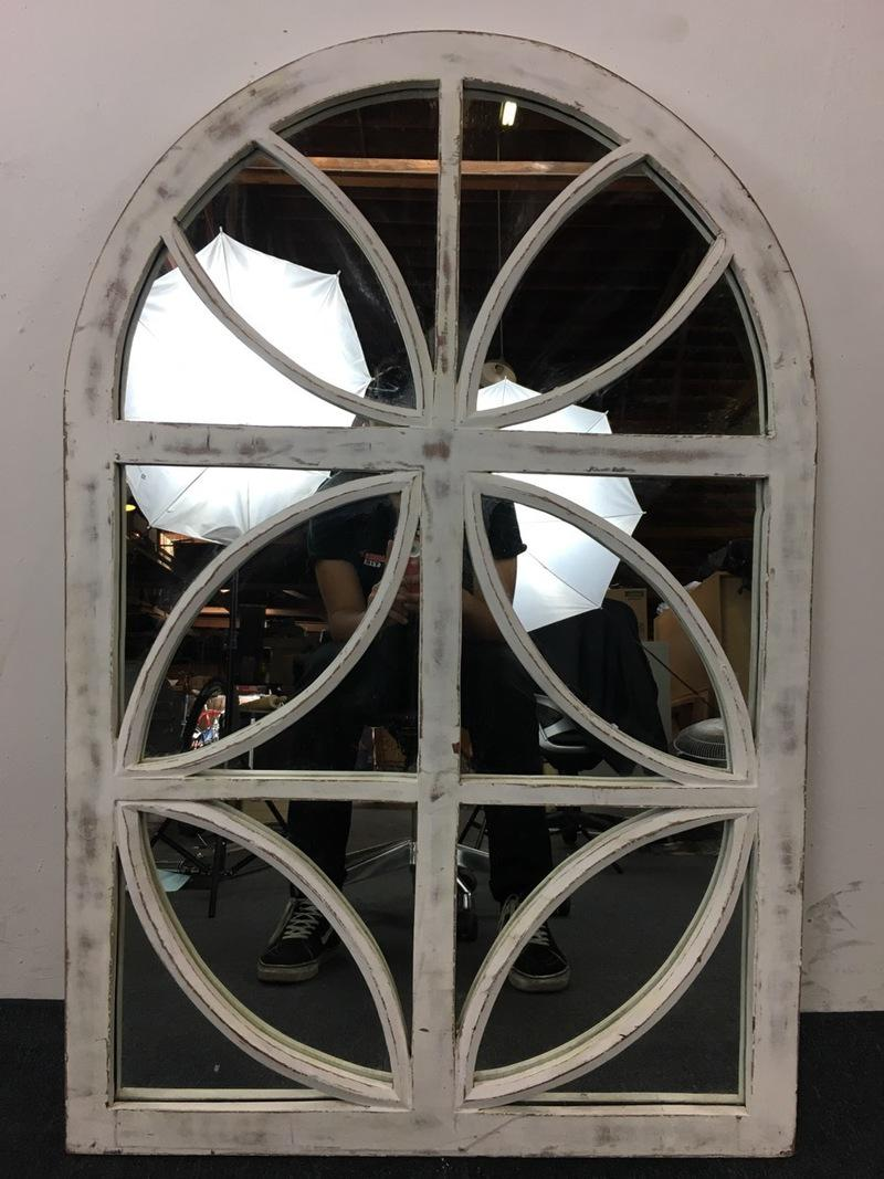 White decorative mirrors