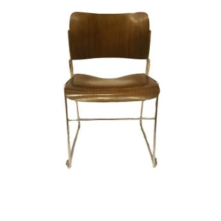 David Rowland 1977 Stacking Sled Chair
