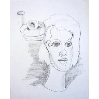 Contemporary Graphite Portrait
