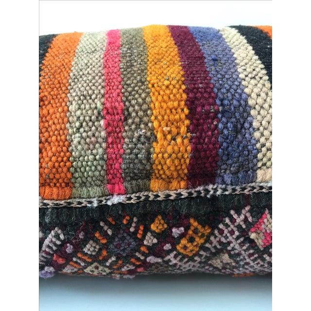 Dhurrie Lumbar Pillow - Image 7 of 8