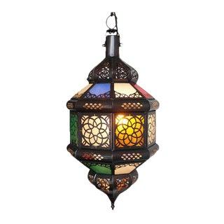 Multicolored Moroccan Lantern