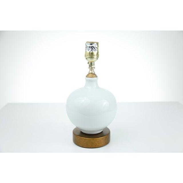 Chinese White Porcelain Vase Lamp - Image 2 of 3