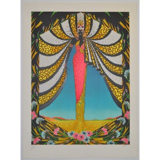 Deco Serigraph by French Artist Jean Francois Ibos