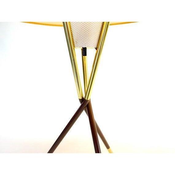 Gerald Thurston Lightolier Tripod Lamps - A Pair - Image 4 of 6