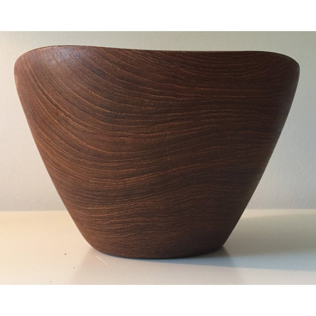 Mid-Century Carved Wooden Bowls - 2 - Image 7 of 8