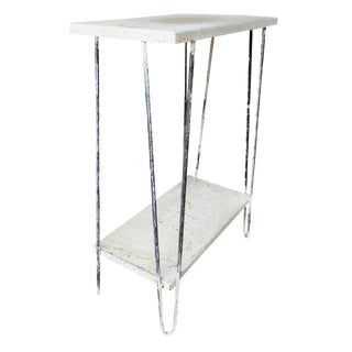 Industrial Splatter Hairpin Table Shabby Chic