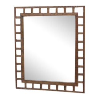 Reclaimed Oak Hand Made Mirror