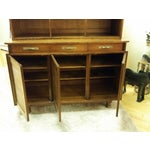 Image of 1955 Trans-East Cherry Willett China Top & Hutch