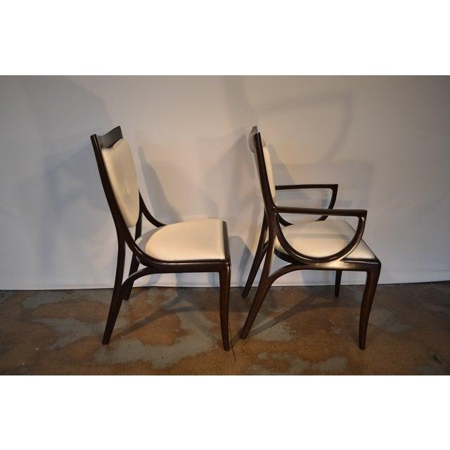 Thomas Moser Moserform Sabina Chairs - Set of 6 - Image 6 of 9