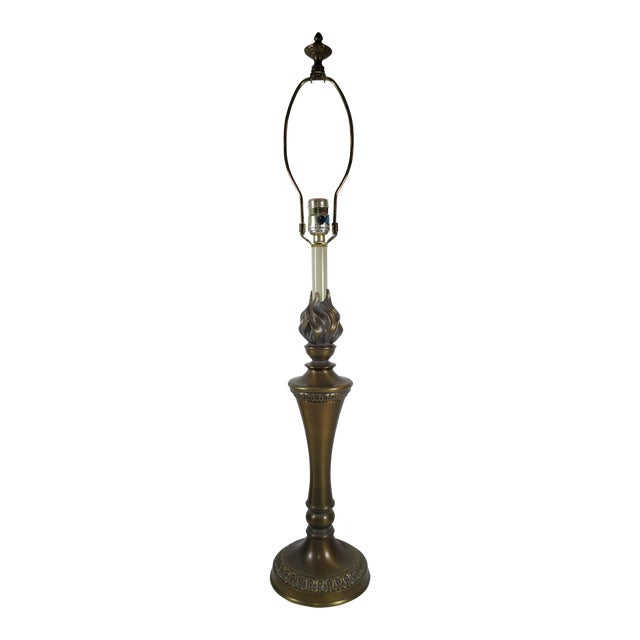 "Stiffel Agean Bronze ""Justice"" Table Lamp - Image 1 of 10"