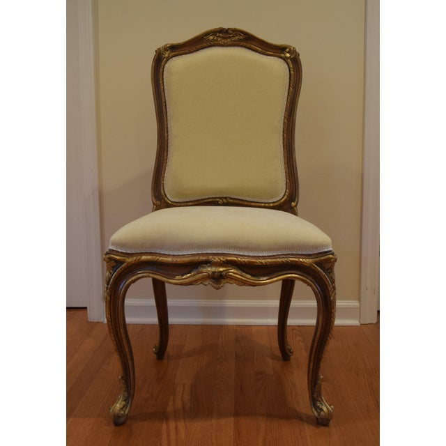 Hand Carved Italian Wood Chair - Image 2 of 9