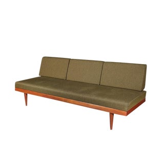 Mid Century Green Sofa Daybed by Ekornes