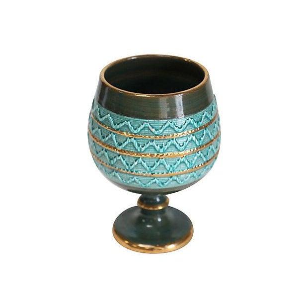 Mid-Century Italian Ceramic Pottery Vase - Image 2 of 5