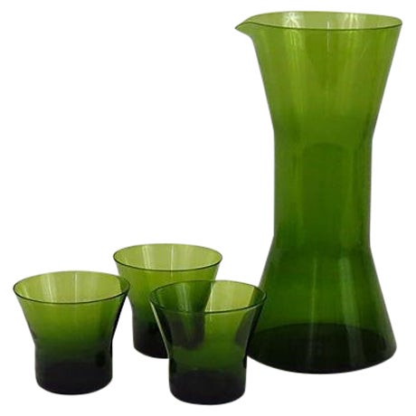 1960s Mid Century Swedish Carafe And Glasses - Image 1 of 5