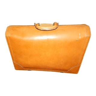 Vintage Top Grain Cow Hide Leather Briefcase