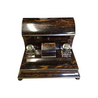 Victorian Coromandel Stationery Holder