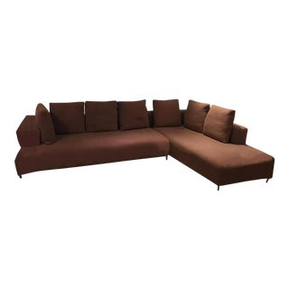 Ligne Roset Opium Sectional in Umber