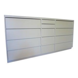 Mid Century Slant Drawer Dresser