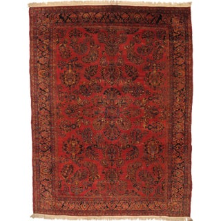 Pasargad N Y Persian Hand Knotted Sarouk Room Rug - 9' X 12'