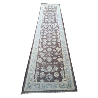 MWB Hand Knotted Rug - 3′5″ × 14′