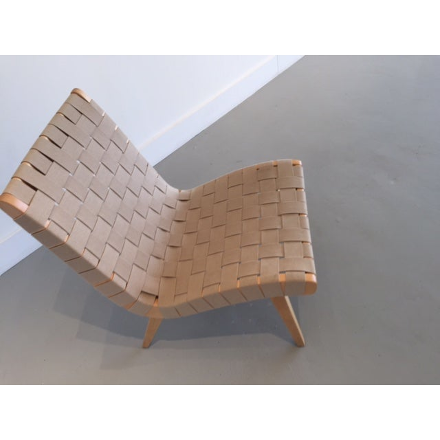 Original And Signed Jens Risom Lounge Chair - Image 4 of 9