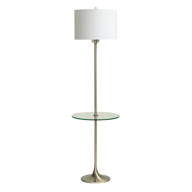 Laurel Tulip Floor Lamp in Silver - Image 1 of 6