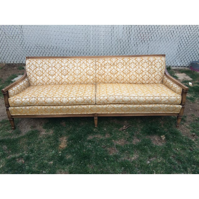 Antique Mid-Century Sofa - Image 2 of 11