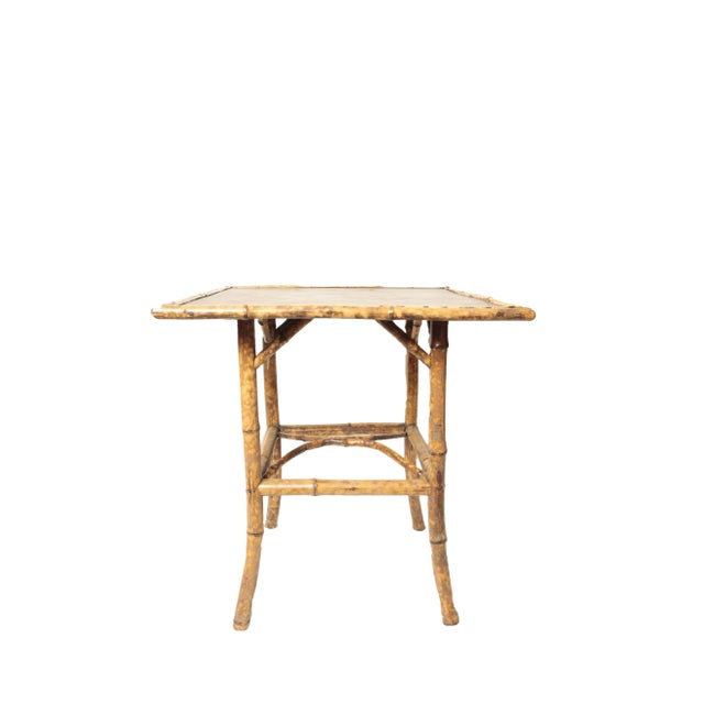 Victorian Bamboo Side Table - Image 2 of 4
