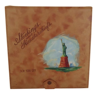 Vintage Leather New York Souvenir Box