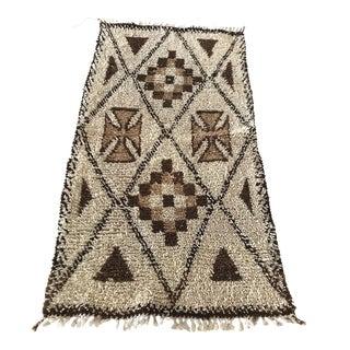 "Vintage Moroccan Berber Rug - 2'9"" x 5'5"""