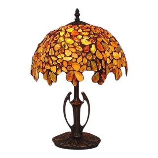 Natural Amber Table Lamp
