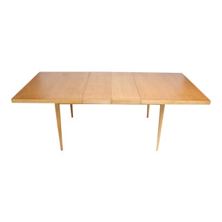 Paul McCobb Maple Extendable Dining Table