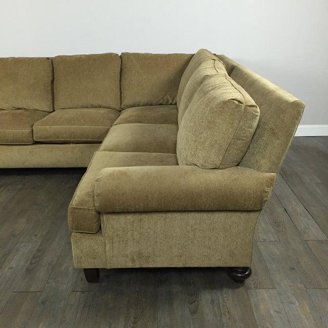 Henredon Two Piece Sectional Sofa Chairish