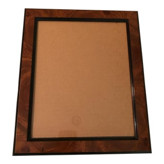 Burl Wood Picture Frame