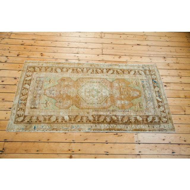 "Distressed Oushak Rug - 4' x 7'4"" - Image 2 of 6"