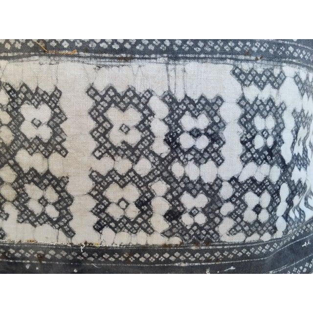 Yao Cross Batik Pillows - A Pair - Image 3 of 5