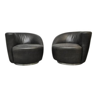 Vladimir Kagan Nautilus Swivel Chairs