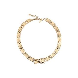 Monet Buckle Necklace