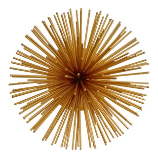 Gold Painted Urchin