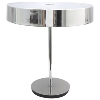 Italian Chrome Desktop Lamp