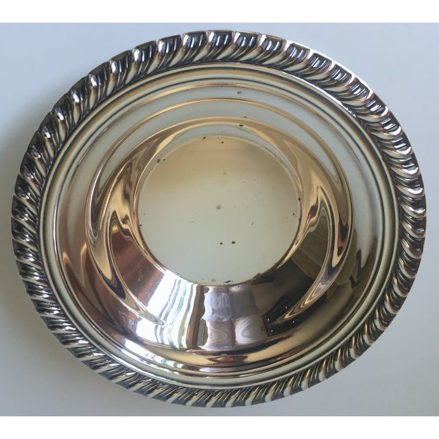 Classic Vintage Silver Trays & Silver Bowl - 3 - Image 3 of 6
