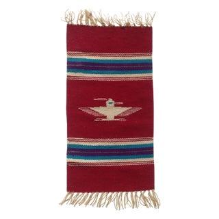 Handwoven Navajo Style Wall Hanging Rug