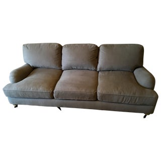 Restoration Hardware Roll Arm 3 Seater Sofa