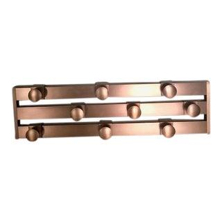 Copper Wall Coat Rack