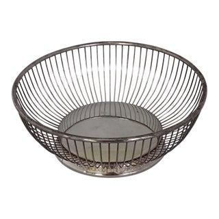 Elegant Silver Plate Fruit/Bread Basket