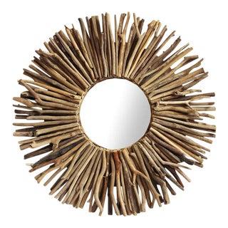 Driftwood Sunburst Mirror Frame
