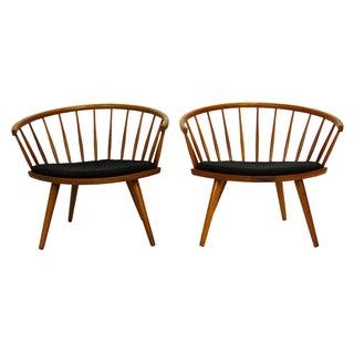 Mid-Century Arka Chairs by Yngve Ekström - A Pair