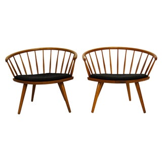 Mid-Century Arka Chairs by Yngve Ekström - A Pair