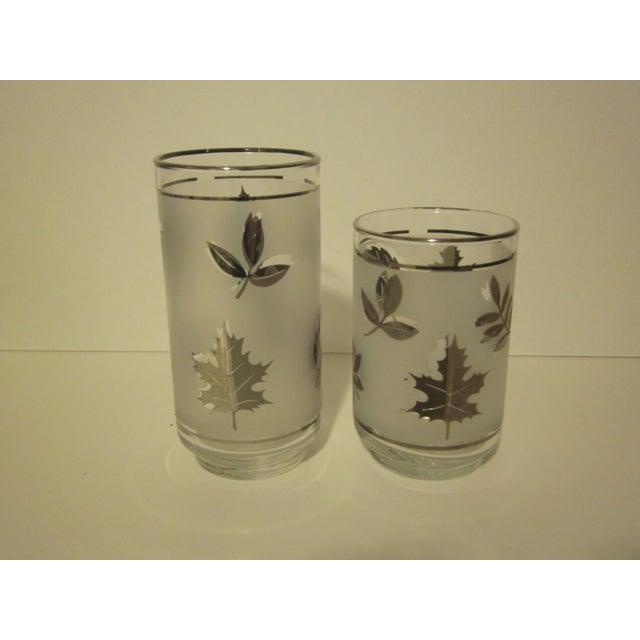 Platnium Leaf Pattern Barware - Set of 12 - Image 5 of 7