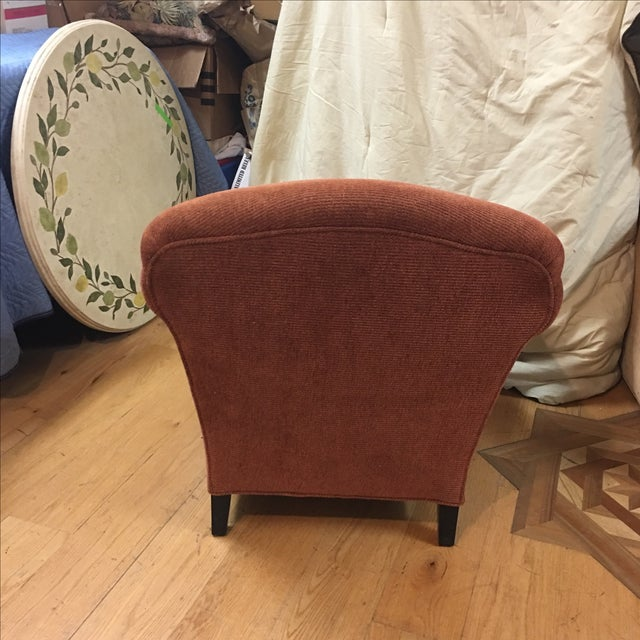 Vintage Style Upholstered Armchair - Image 4 of 5